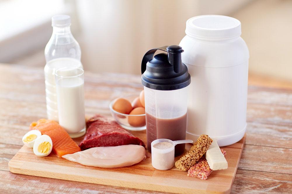 De totale consumptie eiwitten op een dag is belangrijker dan de timing