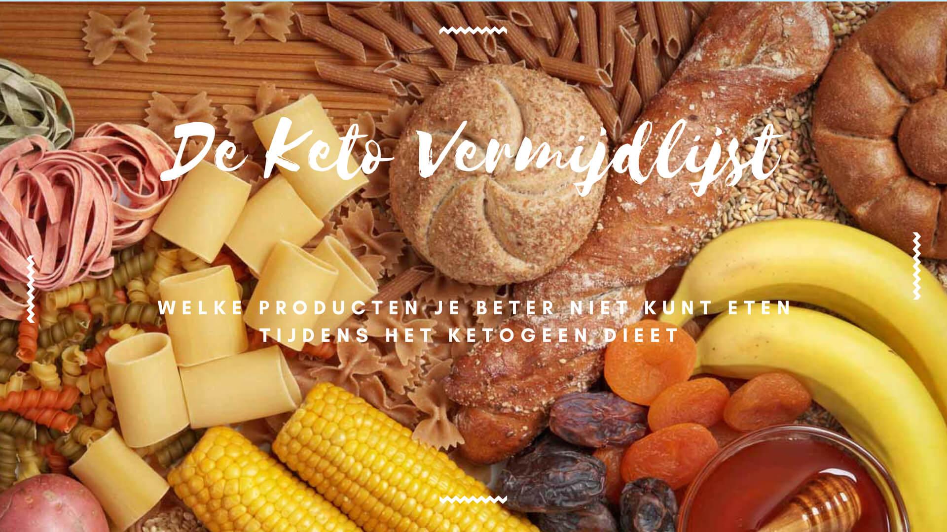 Koolhydraten, eiwitten, vetten en dranken om te vermijden tijdens het ketogeen dieet