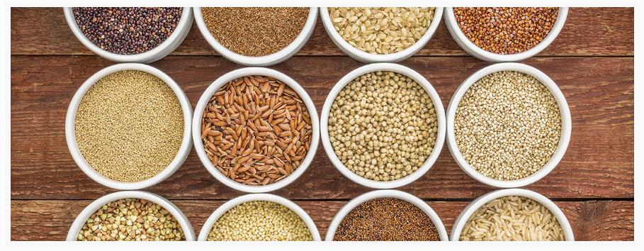 Granen als tarwe, gerst, haver, rogge, rijst en mais moeten worden ontweken tjidens het ketogeen dieet