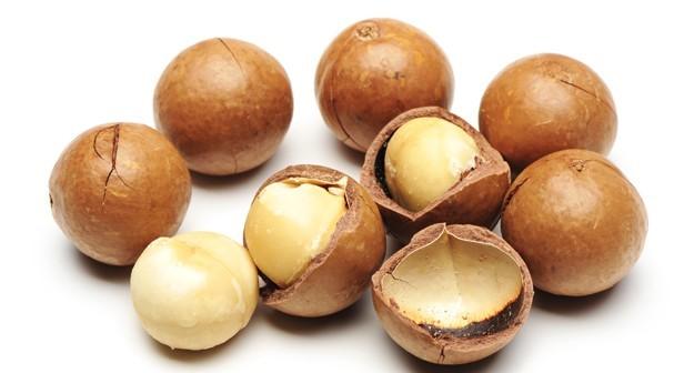 Macadamias hebben de beste vetzuurratio van alle noten