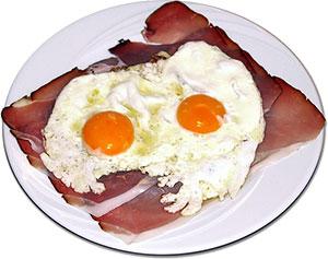 spek eieren keto