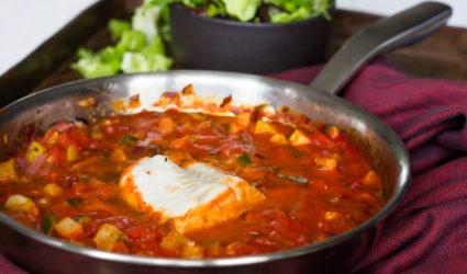 Ketogeen recept, vis, kabeljauw, keto