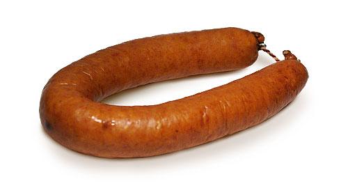 Rookworst bevat veel vet en is koolhydraatarm, maar bevat ook additieven die schadelijk kunnen zijn