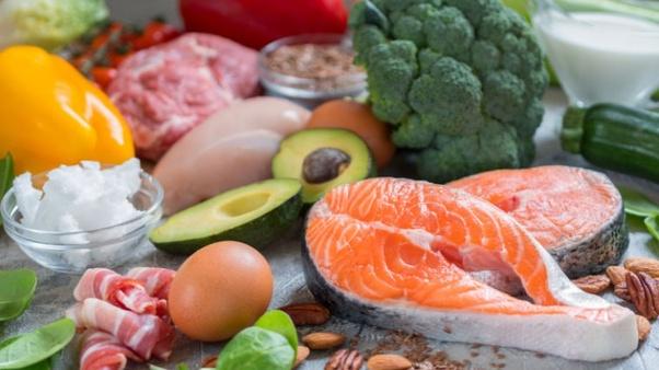 Zalm, avocado, eieren, ketogeen dieet