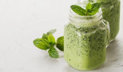 MCT's, middellange vetzuurketens, verwerkt in smoothie