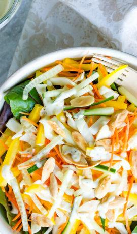 Ketogene salade, recept, ketogeen dieet, salade