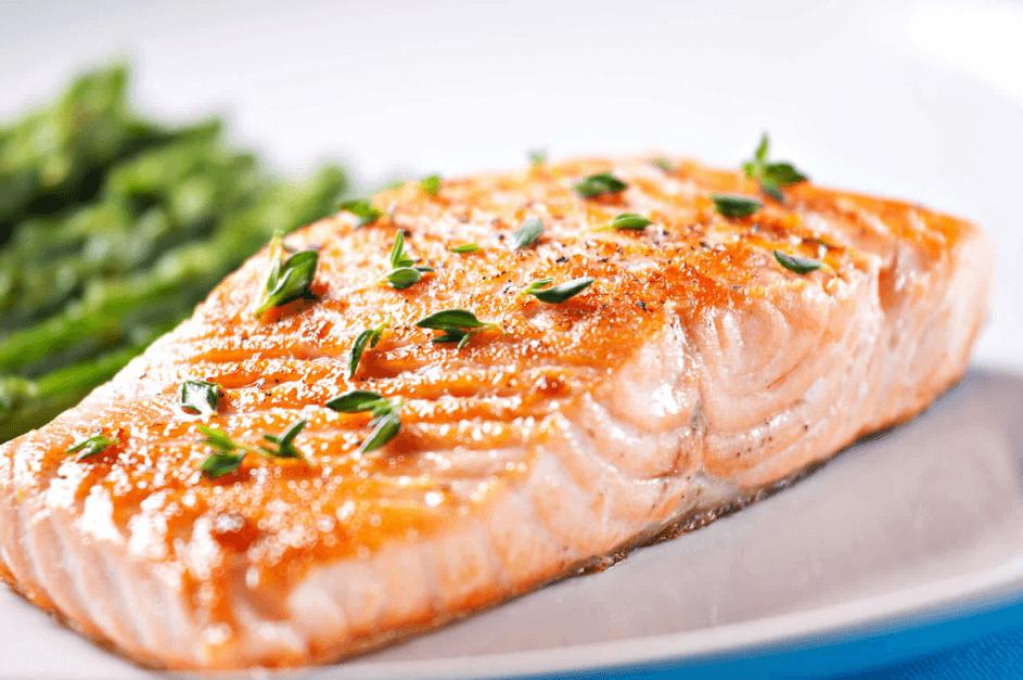 Keto Dieet haaruitval wordt tegengegaan door eiwitten uit zalm