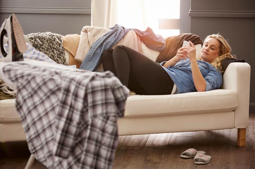 Als couch potato kun je obstipatie in de hand werken