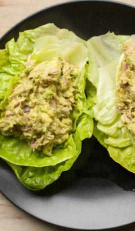 Keto Tonijnsalade met Avocado