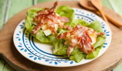 Ei-bacon wraps